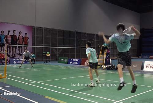 【低视角集锦】震撼!台北队选手全程跳杀砰砰声爆裂
