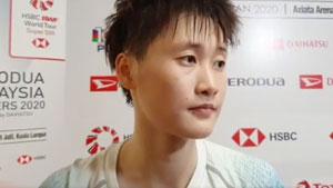 陈雨菲:最大愿望是不受伤 现在会更自信