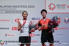 陈雨菲2-0小戴夺冠  国羽3金3银收官丨大马大师赛决赛