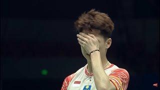 比赛中被羽毛球打脸是什么体验?