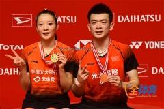 印尼3金1銀成最大贏家,雅思兩個21-9橫掃黃鴨丨印尼大師賽