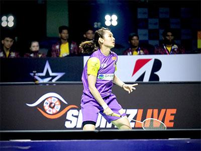 戴资颖VS葛雅特莉 2020印度超级联赛 混合团体小组赛视频