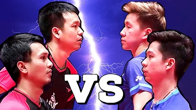印尼技術流對決,小黃人vs亨山組合歷次交手集錦