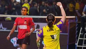 戴资颖VS辛德胡 2020印度超级联赛 女单小组赛视频