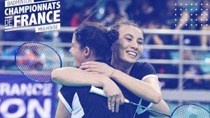 微玛拉/玛格特·兰伯特VS艾尔莎/朱莉安 2020法国全国锦标赛 女双决赛视频