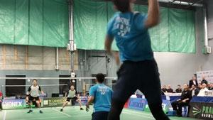 加拿大全国锦标赛男双决赛 何舒/矢仓尼 vs 蒂林德曼/乔纳坦·赖
