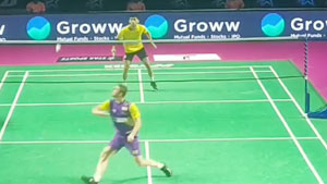 2020年印度羽毛球超级联赛 利弗德斯VS叻斯亚·森