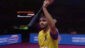 普拉尼斯VS李卓耀 2020印度超級聯賽 混合團體決賽視頻