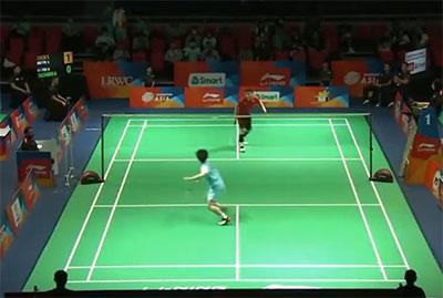 陈孝承VS亚瑟·萨穆尔 2020亚洲团体锦标赛 男团小组赛视频
