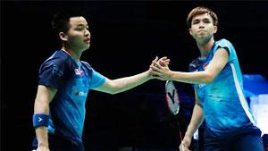 谢定峰/苏伟译VS休提/M.R. Arjun 2020亚洲团体锦标赛 男团小组赛视频