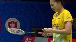 磋楚沃VS成池铉 2020亚洲团体锦标赛 女团半决赛一分6合视频