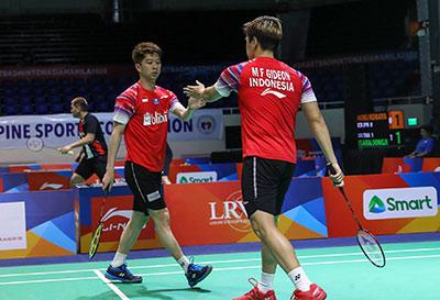 蘇卡穆約/費爾納迪VS叻斯亞/休提 2020亞洲團體錦標賽 男團半決賽視頻