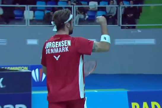 约根森VS卡尔波夫 2020欧洲团体锦标赛 男团半决赛视频