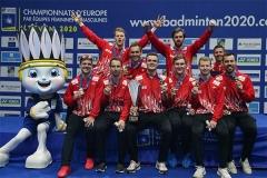 丹麦队称霸欧洲团体锦标赛!