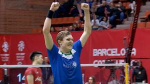 西班牙半决赛丨安赛龙赛点鱼跃挂网晋级决赛!