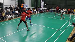 印度洲际锦标赛男双决赛,这水平你打得过吗?