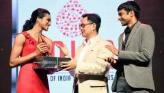 辛德胡获印度年度最佳运动员奖