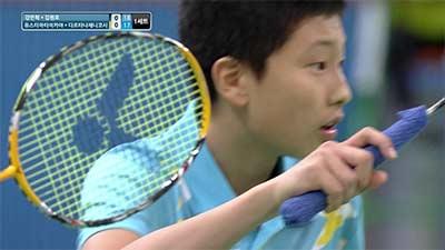 14岁的专业选手你打得过吗?2013韩国青年赛男双决赛