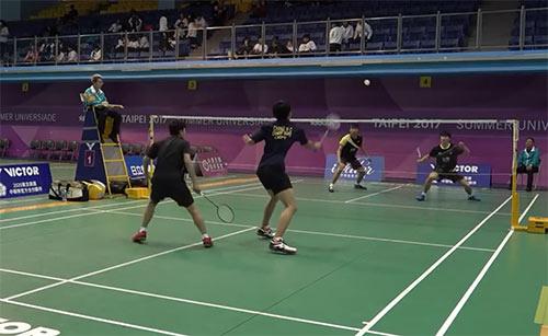 【低视角】中国台北排名赛,这男双水平如何?