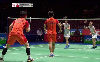 3分钟看完女双决赛,杜玥/李茵晖输在哪?