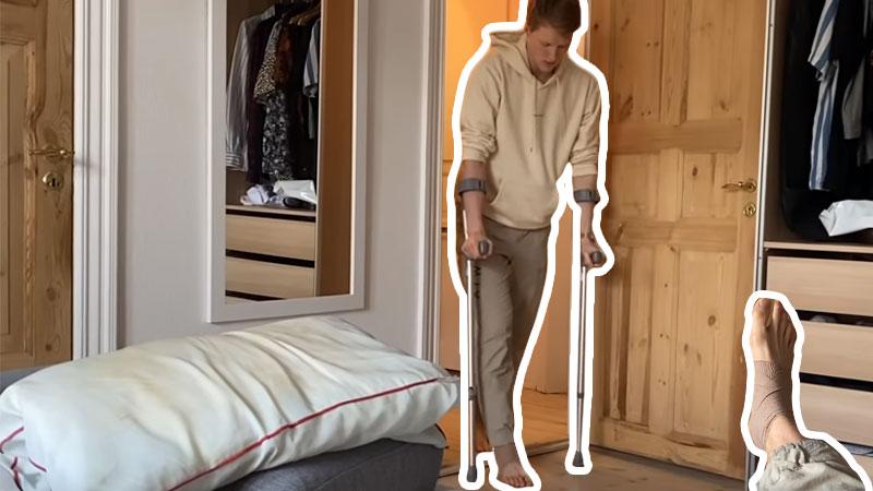 安东森吐槽丨全英防疫让人不能集中比赛 并更新新脚伤情况