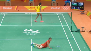 奥运频道回顾里约女单半决赛集锦丨奥原希望至今离奥运金牌最近的一次