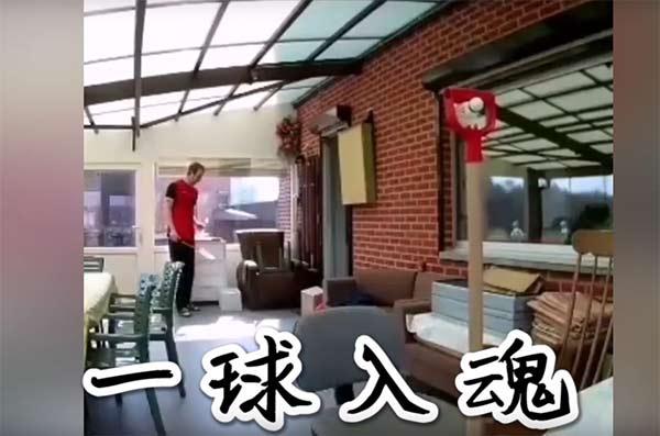 歪果仁防疫在家花式打球,是时候展示真正的技术了!