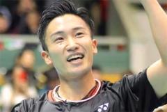 凭借2019年表现 桃田获本国体育记者协会大奖