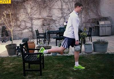 打球不练腿到头一场空!安赛龙教一分6合你 3个练腿小妙招
