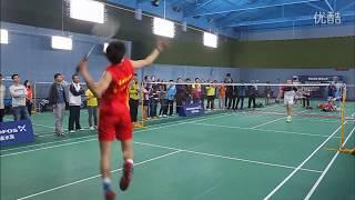 【低视角】盖德和某中国选手打表演赛 这年龄仍能吊打小伙