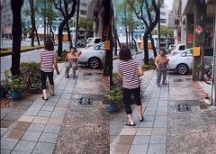 溫馨祖孫比賽 小戴與90歲奶奶打球