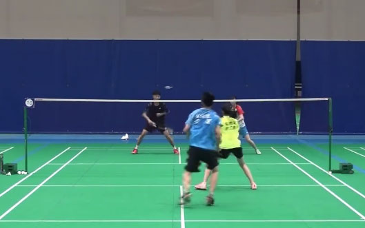国羽混双纳新!陈祈遒教练晒四小将比赛