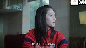 大堀彩:喜欢运动系男生