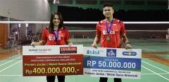 乔丹/梅拉蒂获4.5亿印尼盾奖励