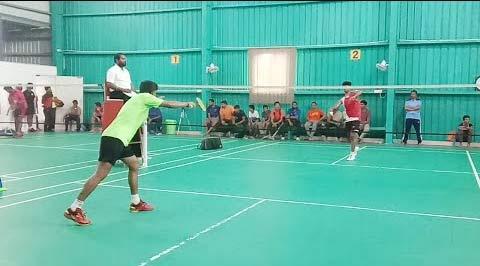 【低视角】印度某俱乐部排名赛 这男单水平如何?