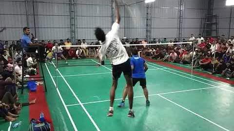 【低视角】印度喀拉拉邦公开赛男双决赛 有省队水平吗?