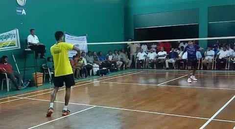 【低视角】印度某省锦标赛男单决赛 与中国省队比如何?