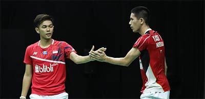 法加尔/雅各布vs阿德里安托/马丁 2020印尼队内赛首轮