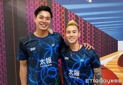 台北男双忙训练  王齐麟找足球教练杨博涵减脂到8%