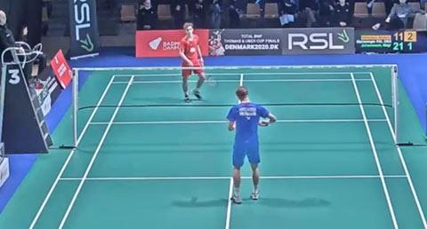 安东森vs马格努斯·约翰森 2020丹麦全国锦标赛1/4决赛