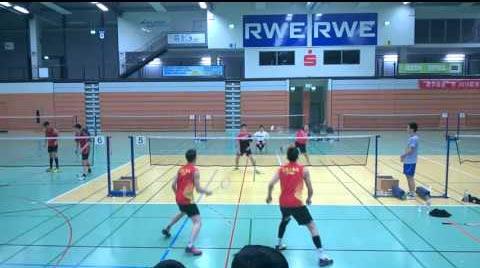 2016年欧洲华人男双挑战赛决赛,水平如何?