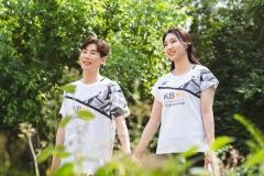 公布唯美羽球艺术照 孙完虎成池铉12月12日大婚