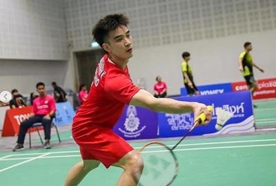 王高伦VS尼波恩拉姆 2020泰国全国锦标赛 男单1/8决赛视频