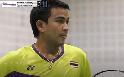 王高伦VS科希特 2020泰国全国锦标赛 男单半决赛视频