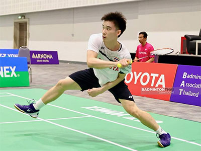 昆拉武特VS王高伦 2020泰国全国锦标赛 男单决赛视频