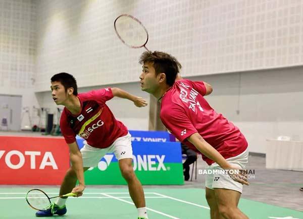 苏帕克/吉丁奴蓬VS春柯基/塔努帕特 2020泰国全国锦标赛 男双决赛视频