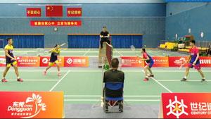 程星/张弛VS刘毅/唐睿芝 国羽二队混合团体模拟对抗赛 混双决赛视频
