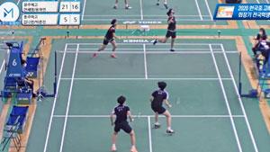 实力的鸿沟丨安洗莹女双对手两局才上双 2020韩国高校团体赛半决赛