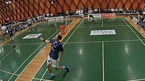 安赛龙VS克里斯托弗森 2020丹麦羽超联赛 混合团体小组赛视频