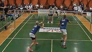 卡斯珀·安东森/席琳VS摩根森/托尔莫夫 2020丹麦羽超联赛 混合团体小组赛视频